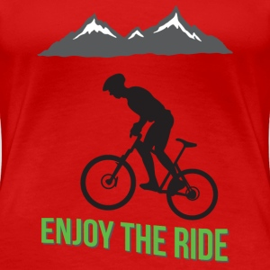 MTB - Enjoy the Ride - Women's Premium T-Shirt
