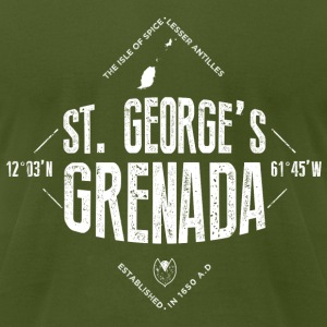 Saint George's, Grenada T-Shirts - Men's T-Shirt by American Apparel