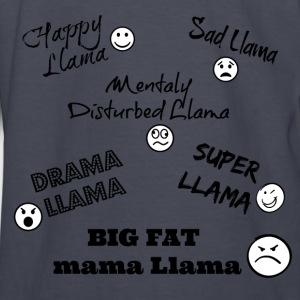 Llama Song Shirt  - Kids' Long Sleeve T-Shirt