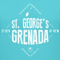 Saint George's, Grenada Women's T-Shirts