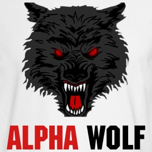 The Alpha Wolf - Men's Long Sleeve T-Shirt