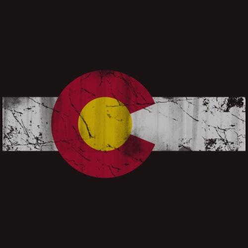 Colorado Flag Vintage Fade