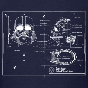 darth vader star wars blueprint T-Shirts - Men's T-Shirt