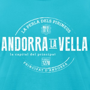 Andorra la Vella T-Shirts - Men's T-Shirt by American Apparel