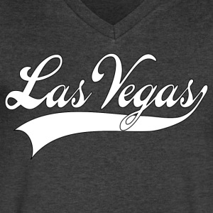 las vegas T-Shirts - Men's V-Neck T-Shirt by Canvas