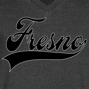 fresno T-Shirts - Men's V-Neck T-Shirt by Canvas
