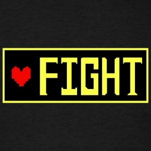 Undertale - FIGHT - Men's T-Shirt