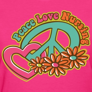 Peace Love Nursing Women's T-Shirts - Women's T-Shirt