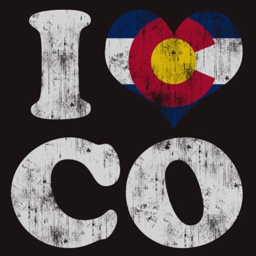Popular I Heart Flag of Colorado