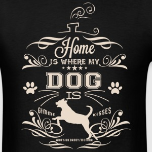 Home_Dog - Men's T-Shirt