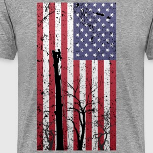 American Tree Climber - Men's Premium T-Shirt