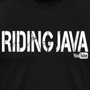 Riding Java  T-Shirts - Men's Premium T-Shirt
