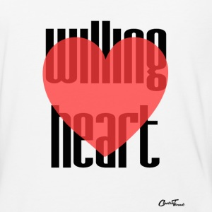 Willing heart T-Shirts - Baseball T-Shirt
