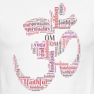 Om words symbol T-Shirts - Men's Ringer T-Shirt