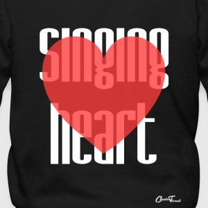 Singing heart-white Zip Hoodies & Jackets - Men's Zip Hoodie