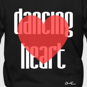 Dancing heart-white Zip Hoodies & Jackets - Men's Zip Hoodie