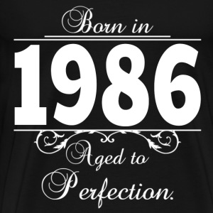 Born in 1986 birthday T-Shirts - Men's Premium T-Shirt