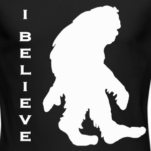Bigfoot I believe w - Men's Long Sleeve T-Shirt by Next Level