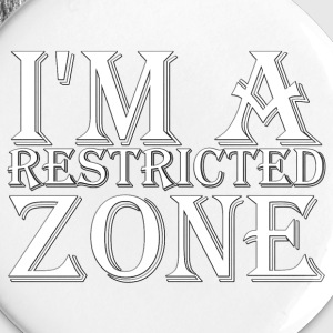 Restricted Zone Round Button Set - Large Buttons