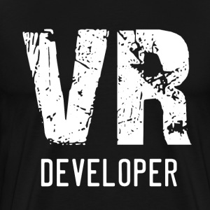 VR Developer (white) - Men's Premium T-Shirt