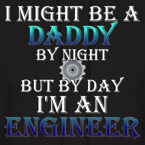 Daddy Engineer Mens Hooded Sweatshirt - Men's Hoodie