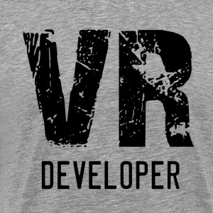 VR Developer (Black) - Men's Premium T-Shirt