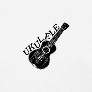 Ukulele Text And Image - Women's T-Shirt