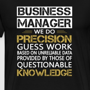 BUSINESS MANAGER - Men's Premium T-Shirt