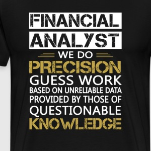 FINANCIAL ANALYST - Men's Premium T-Shirt