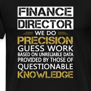 FINANCE DIRECTOR - Men's Premium T-Shirt