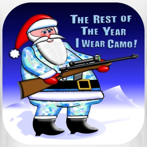 Santa Camo Hunter - Men's T-Shirt