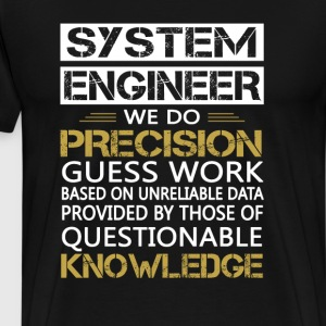 SYSTEM ENGINEER - Men's Premium T-Shirt