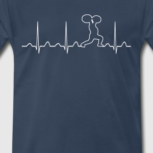 GYM HEARTBEAT - Men's Premium T-Shirt