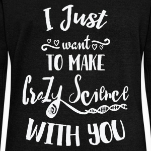 I Just Want To Make Crazy Science With You Cosima Long Sleeve Shirts - Women's Wideneck Sweatshirt