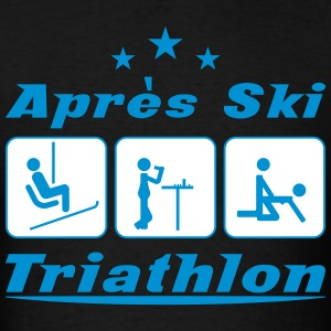 Apres Ski Triathlon T-Shirts - Men's T-Shirt