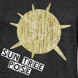 Sun Tree Pose - Women's Wideneck Sweatshirt