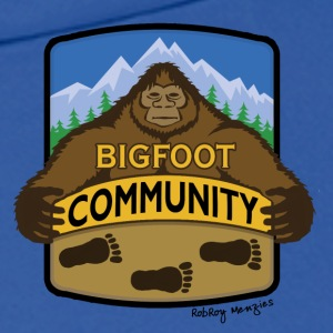 Men's Bigfoot Community Pull over Hoodie  - Men's Hoodie