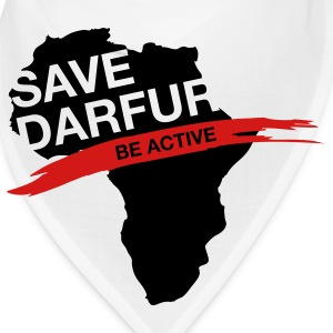 Save Darfur. Be active! Caps - Bandana