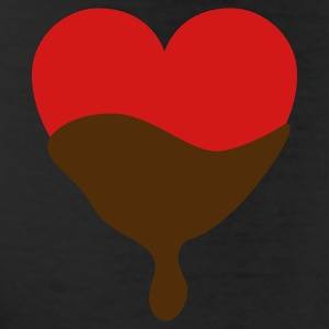 Heart with chocolate Bottoms - Leggings by American Apparel