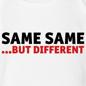 Same same, but different Baby Bodysuits - Short Sleeve Baby Bodysuit