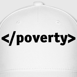 End poverty. Caps - Baseball Cap