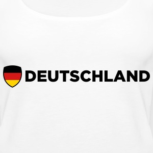National Flag of Germany Tanks - Women's Premium Tank Top