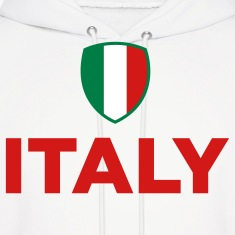 National Flag of Italy Hoodies