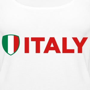 National Flag of Italy Tanks - Women's Premium Tank Top