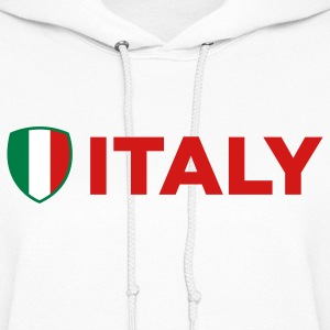 National Flag of Italy Hoodies - Women's Hoodie