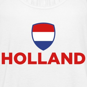 National Flag of Netherlands Tanks - Women's Flowy Tank Top by Bella
