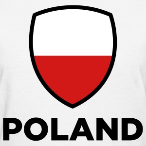 National Flag of Poland Women's T-Shirts - Women's T-Shirt