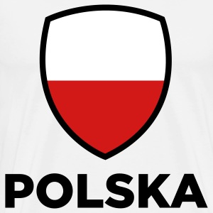 National Flag of Poland T-Shirts - Men's Premium T-Shirt