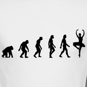 The Evolution of Ballerinas Long Sleeve Shirts - Men's Long Sleeve T-Shirt by Next Level