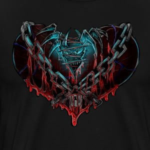 Nightmare Heart Chained - Men's Premium T-Shirt